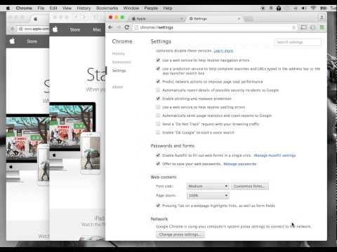 Disable Pop Up Blocker on Chrome, Safari, Firefox for OS X