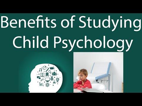 Benefits of Studying Child Psychology