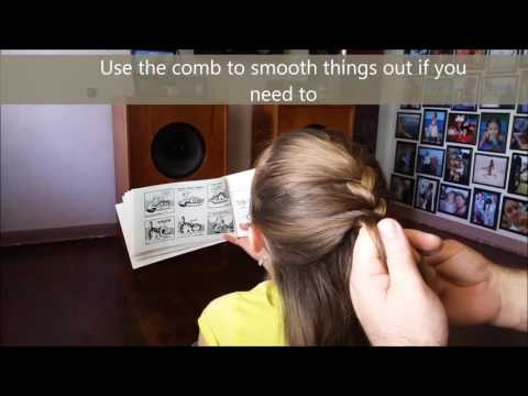 Fast French Braid by Daddy Daughter Hair Factory
