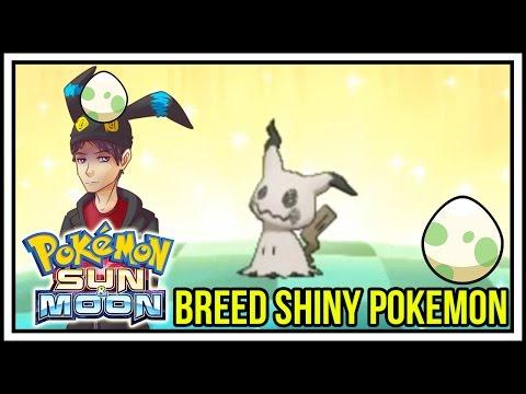 How to Breed Shiny Pokemon in Pokemon Sun and Moon! [Masuda Method]