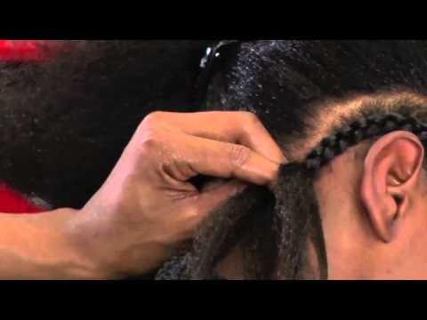 How To Braid Extensions