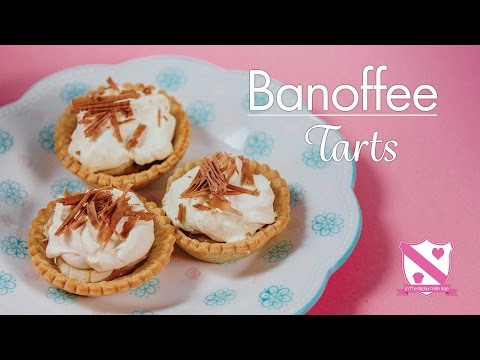 Mini Banoffee Tarts - In The Kitchen With Kate