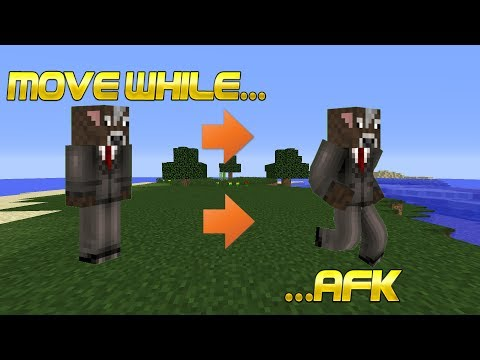 Minecraft | How To Move While Being AFK
