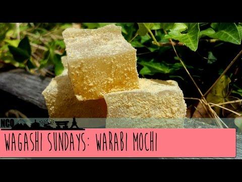 Wagashi Sundays: Warabi Mochi