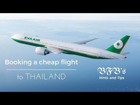 How to book a cheap flight from the UK to Thailand. Summer 2017 edition