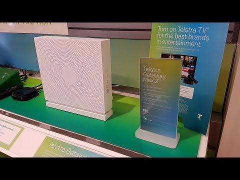 Telstra Gateway Max 2 5Ghz Wifi speed test