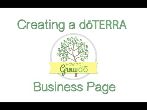 Creating an Essential Oil Business Page on Facebook
