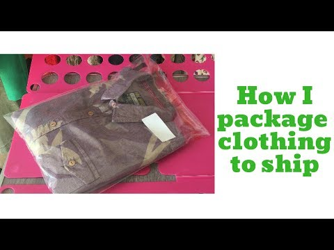 Selling Clothing on eBay - UPDATED - How I package , store & ship clothes