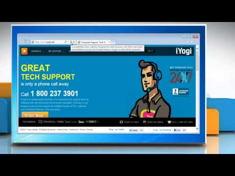 How to turn on compatibility view in Internet Explorer® 10 Preview on a Windows® 7-based PC
