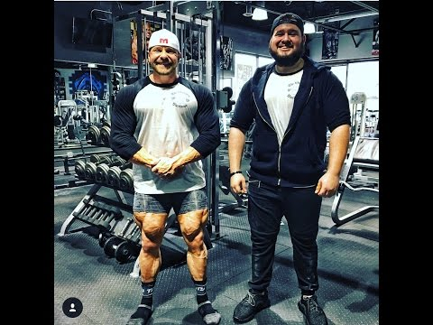 Working out with Marc Lobliner Leg Day re-upload