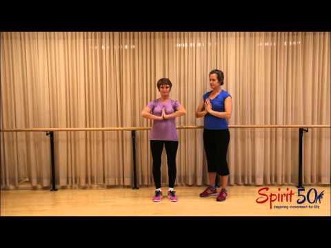 Meditation exercise- prayer stretch