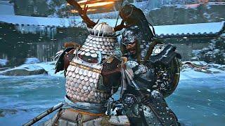 GHOST OF TSUSHIMA - Khotun Khan Boss Fight (Samurai VS Mongol Army)