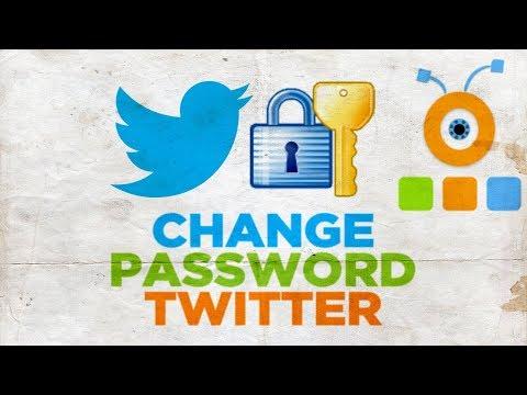 How to Change Password in Twitter
