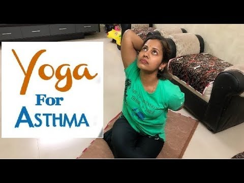 Top 3 Yoga Asanas to Cure Asthma - Breathing Exercises for Beginners Ashma