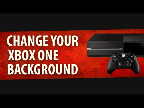 How to change your background on Xbox One (2015)
