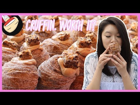 【Mr. Holmes Bakehouse】Is it worth waiting for a CRUFFIN? | Dessert Vlogs