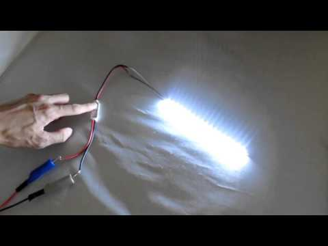 12V Wired Universal LED Flashing/Strobe Controller Module Demonstration