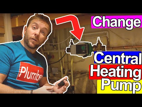HOW TO CHANGE A CENTRAL HEATING PUMP - Plumbing Tips