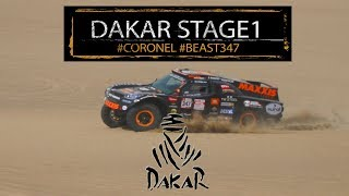Dakar 2018 stage 1, difficult start for Tim and Tom Coronel in the Beast