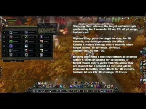 WoW MoP: Hunter Talent Points