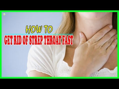 How To Get Rid of Strep Throat Fast And Naturally | Best Home Remedies