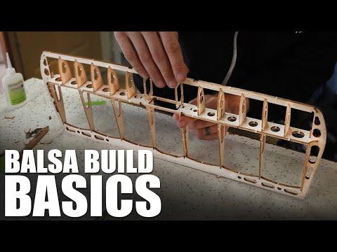 Flite Test | Balsa Building Basics