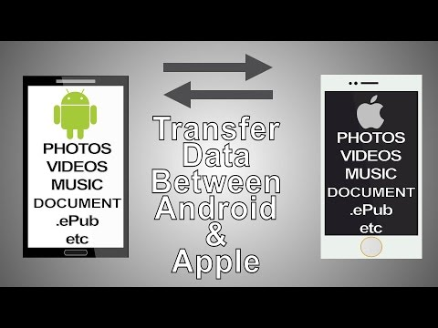 How To Transfer Files (Wireless) Between Android & Apple Devices