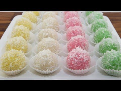 Snowball Cakes (Banh Bao Chi)
