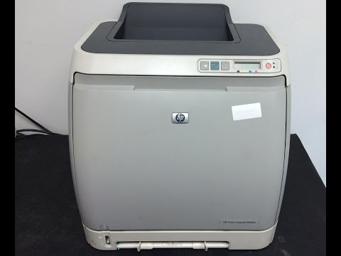 How to replace Fuser Assembly: HP Color LaserJet 2600n printer