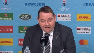 Hansen gives brilliant interview after final match in charge