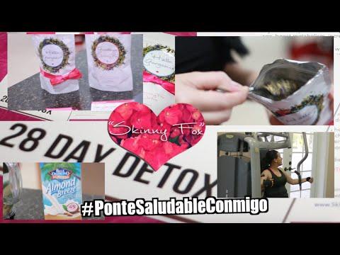#PonteSaludableConmigo SkinnyFox Detox + Aperitivos Saludables + Ejercicio | Pink Orchid Makeup