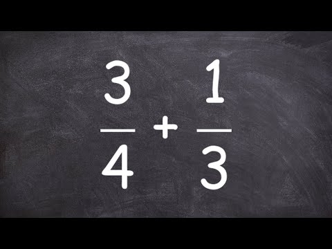 How to find common multiples of fractions - free online tutoring