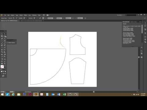 Measuring a Curved Path or Line in Adobe Illustrator CS6