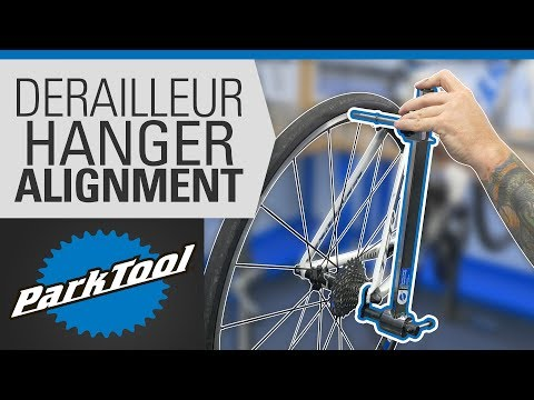 How to Align a Derailleur Hanger Using the DAG-2.2