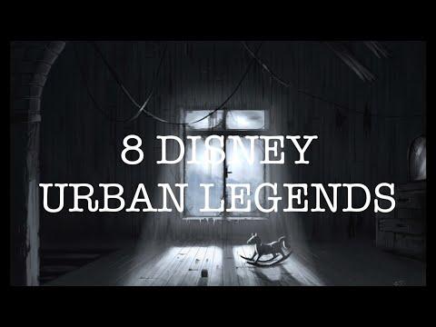 8 CREEPY DISNEYLAND URBAN LEGENDS!