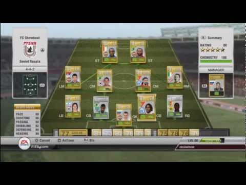 FIFA 12 Ultimate Team - The Russian League Team - Ultimate Team Tips & Tricks - Gameplay/Commentary
