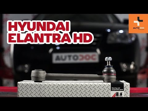 How to replace rear suspension arm on HYUNDAI ELANTRA HD TUTORIAL | AUTODOC