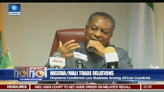 News@10: Onyeama Condemns Low Business Among African Countries 21/07/17 Pt 3