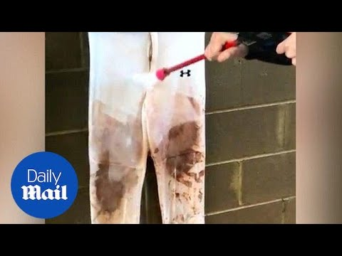 Amazing hack shows how to get rid of mud stains quickly - Daily Mail