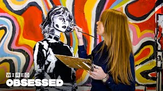 Download How This Woman Makes People Look 2D with Body Paint | Obsessed | WIRED Video