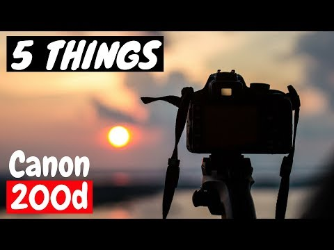 Canon 200d   Top 5 Reasons to Buy   Perfect DSLR for beginners