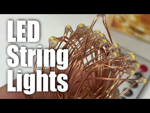 Kohree 60LED String Lights with Remote Control Review