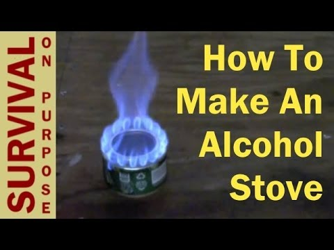 How To Make An Alcohol Stove - Survival Gear
