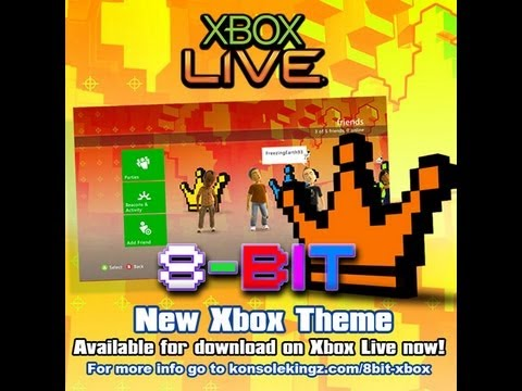Xbox Theme: 8-Bit Crown Preview and How to Download