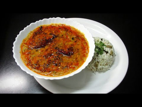 Dal Fry Recipe (Dhaba Style) - How to cook Dal fry - Simple Dal Fry Recipe