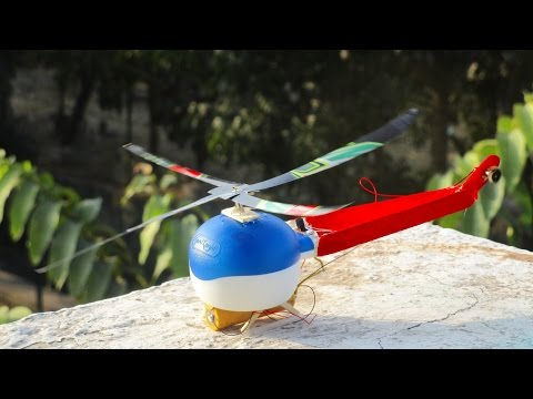 How To Make a electric Helicopter