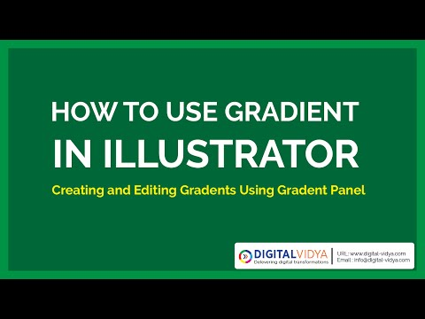 [Telugu Tutorial] how to use gradient in illustrator cs6