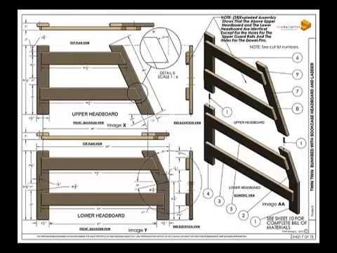 Twin/Full Bunkbed Plans