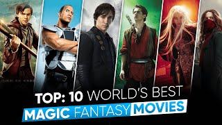 Top 9 Best Magic Fantasy Movies in Hindi | 9 जादुई फिल्मे | Best Magic Fantasy Movie