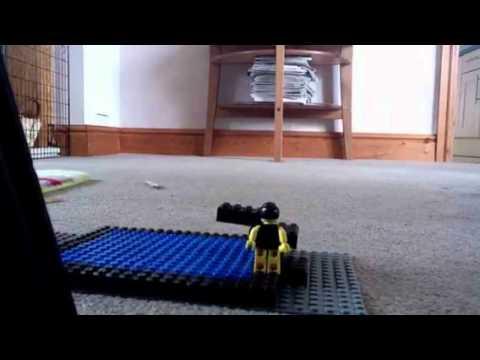 Lego pool dive